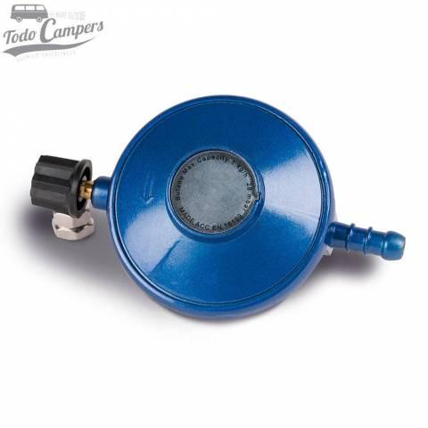 Grifo regulador de gas giratorio para bombonas azules universales