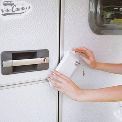 Cerradura Fiamma de máxima seguridad para la puerta de entrada de tu furgoneta, autocaravana o caravana