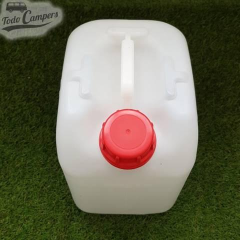 Garrafa de agua camper - 20 litros (uso alimentario)