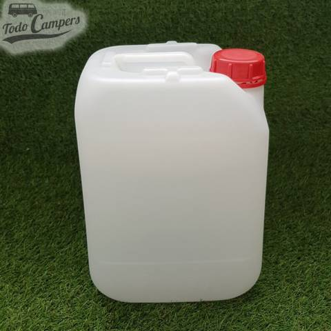 Depósito de agua de 20 litros apto para uso alimentario