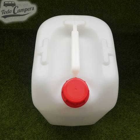 Garrafa de agua camper - 25 litros (uso alimentario)