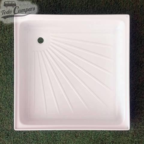 Plato de ducha blanco 600 x 600 x 102 mm