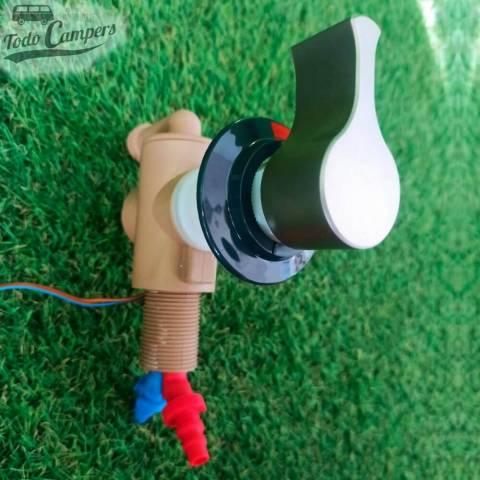 """Premezclador monomando de agua fria y caliente REICH con conexión a ducha 1/2"""" - Cromo"""