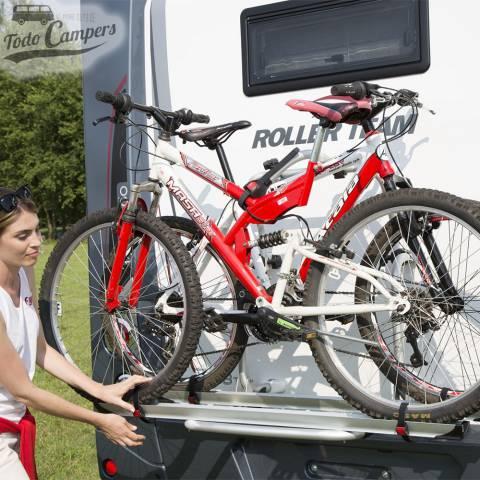 Instalación del portabicicletas Fiamma Carry Bike PRO C